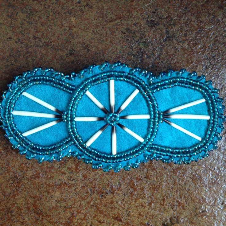 A personal favorite from my Etsy shop https://www.etsy.com/listing/464128893/teal-turquoise-porucpine-barrette