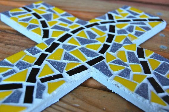 mosaic crosses!