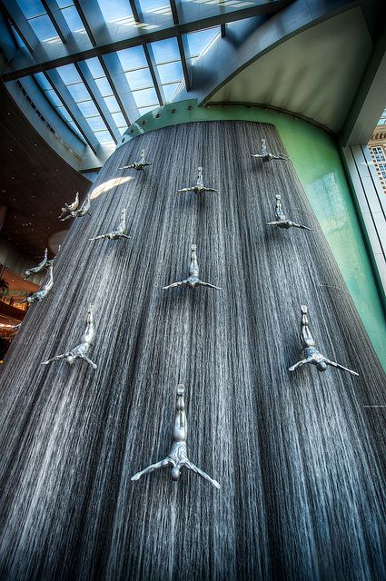 The High Dive - (HDR Dubai, UAE) - This is actually inside a shopping maill in Dubai...