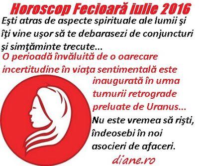 diane.ro: Horoscop Fecioară iulie 2016