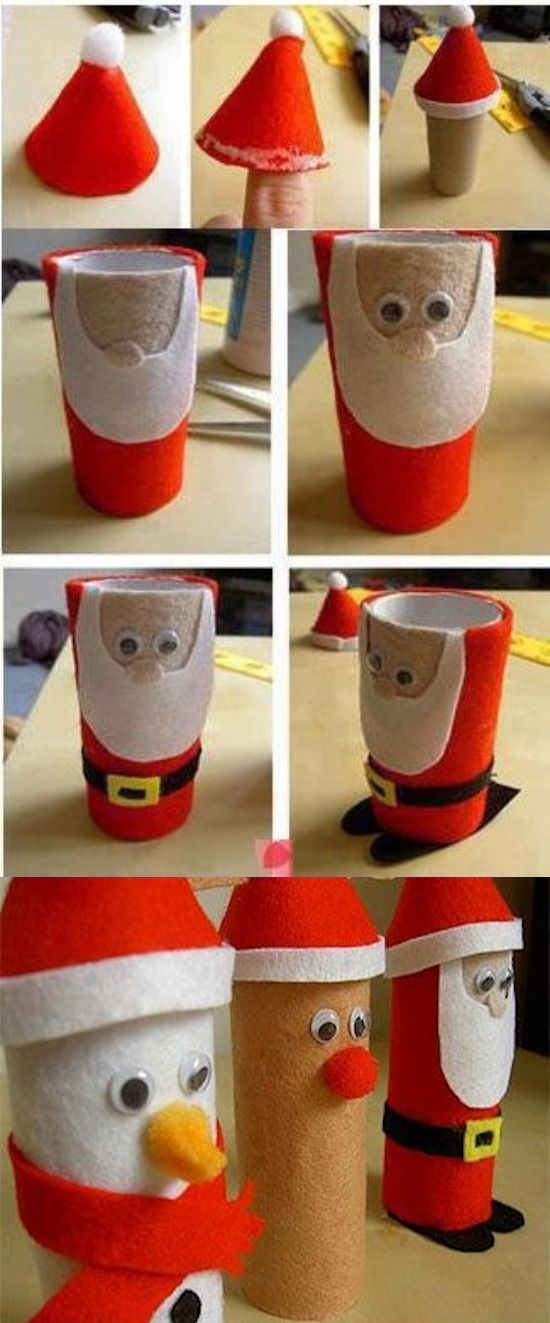 181 best Christmas images on Pinterest  Christmas ideas Easy