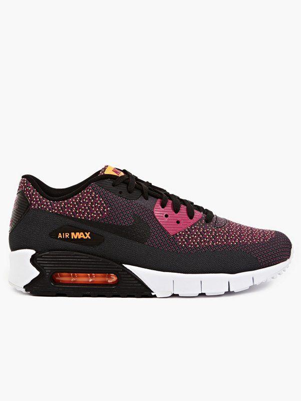Nike Men's Purple Air Max 90 Jacquard Sneakers | oki-ni