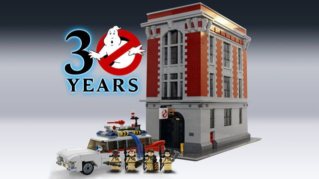 """Toys """"R"""" Us Leaked More Info on the Lego Ghostbusters Firehouse HQ Set"""