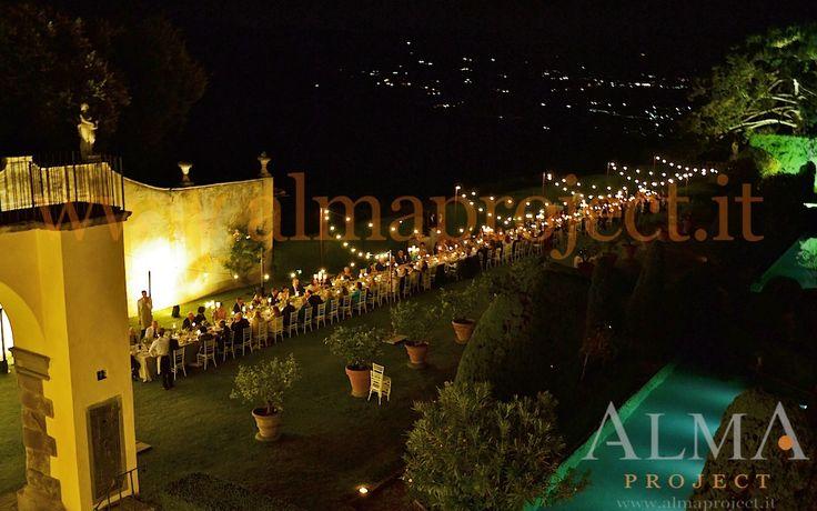 ALMA PROJECT @ Gamberaia - Light BULBS string fairy palo set panoramica 1