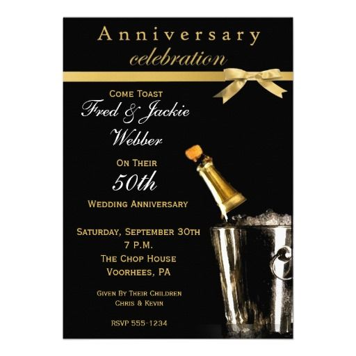 Best Th  Th Wedding Anniversary Invitations Templates