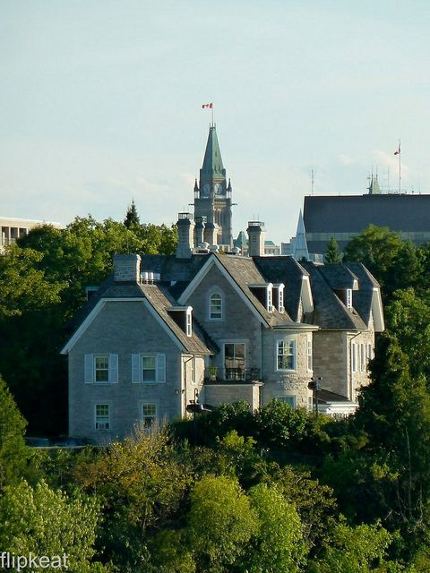 24 Sussex Drive (Official Residence of the Prime Minister of Canada) Ottawa, Ontario, Canada | by flipkeat, via Flickr