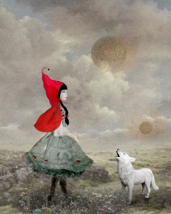 """""""little red"""" of riding hood fame.  Repinned by www.mygrowingtraditions.com"""