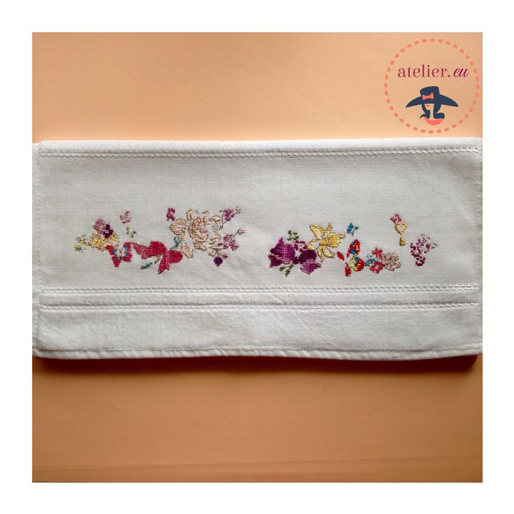 serviette cross stich