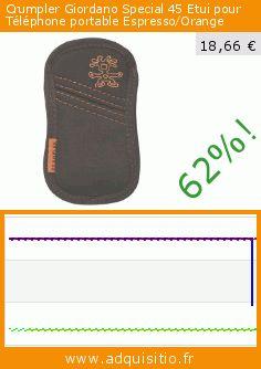 Crumpler Giordano Special 45 Etui pour Téléphone portable Espresso/Orange (Luggage). Réduction de 62%! Prix actuel 18,66 €, l'ancien prix était de 49,50 €. https://www.adquisitio.fr/crumpler/giordano-special-45-etui