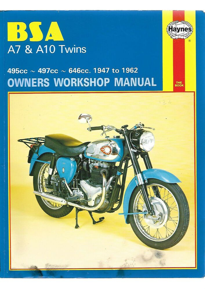 Haynes #BSA #Birmingham #Small #Arms A7 & A10 Twins Owners