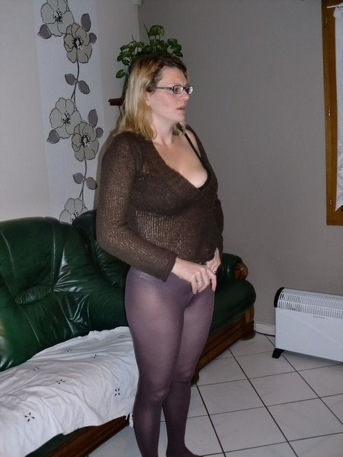Mature amateur candid pantyhose photos