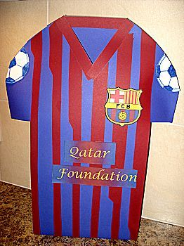 Voetbal shirt maken