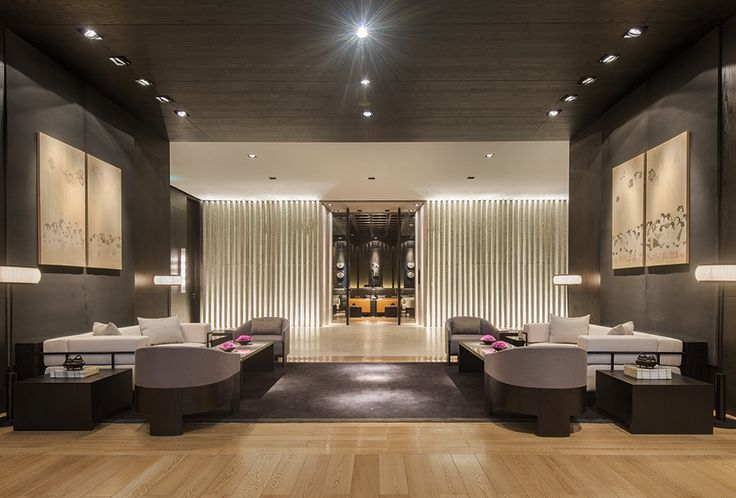 The asia hotel design awards 2015 lobby of the puyu for Hotel design grisons