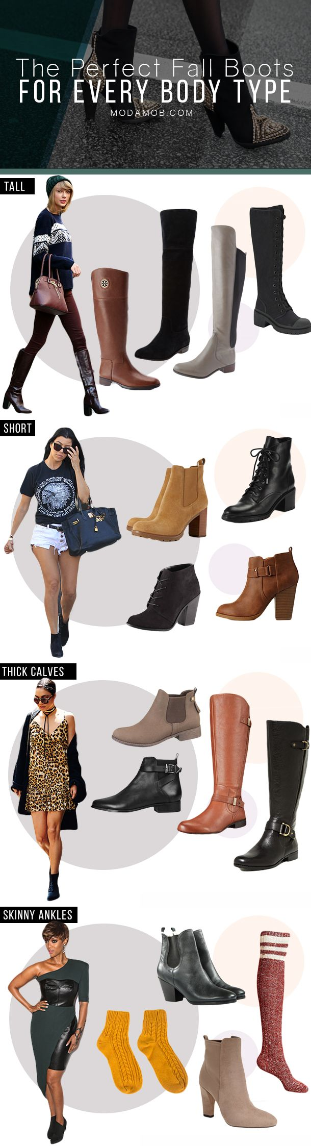 Fall Boots For Your Body Type