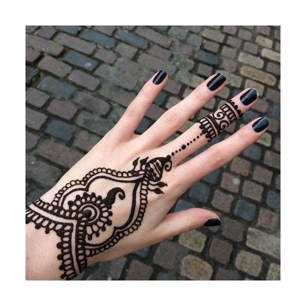 Henna Tattoo Tumblr Ideas: Tattoo Tumblr Liked On Polyvore Featuring Tattoos