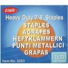 Tűzőkapocs 23/23 1000 darab Eagle 2323 - Tűzőgépkapocs ár Ft Ár 419 Ft Ár Tűzőkapocs - Tűzőgépkapocs - Fűzőkapocs
