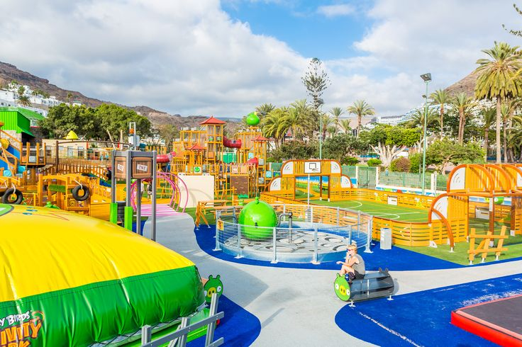 Angry Birds Activity Park, Puerto Rico. See more: http://www.lappsetcreative.fi/References/