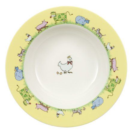 Farm Animals Assiette enfant 19,5 cm, creuse - Villeroy & Boch - Villeroy & Boch - RoyalDesign.fr