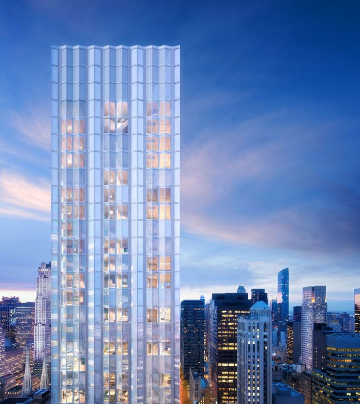 with units starting at over $3,000,000, take a look inside the international practice's 100 e 53rd street manhattan development.