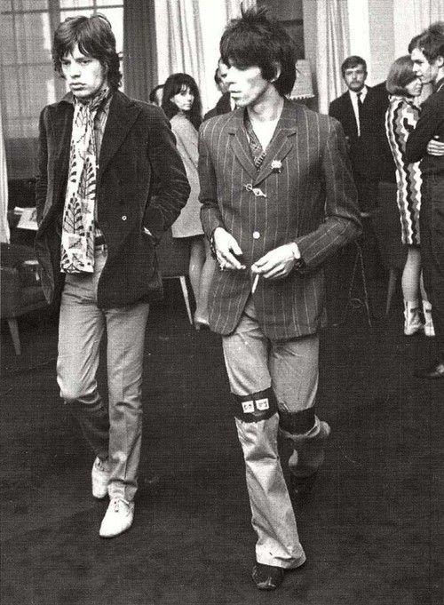 Mick Jagger & Keith Richards