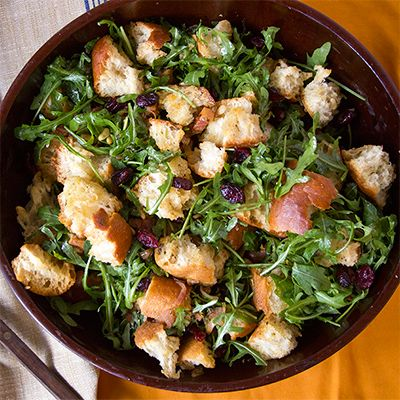 A fresh, crunchy, seasonal salad is a perfect counterpoint to the rich cooked dishes usually served on Thanksgiving. See 24 perfect salad recipes for fall.