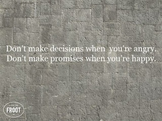 positive quote about making decisions