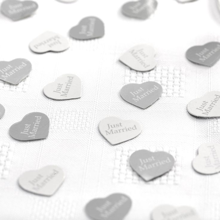 Contemporary Heart -Table Confetti- Weddings