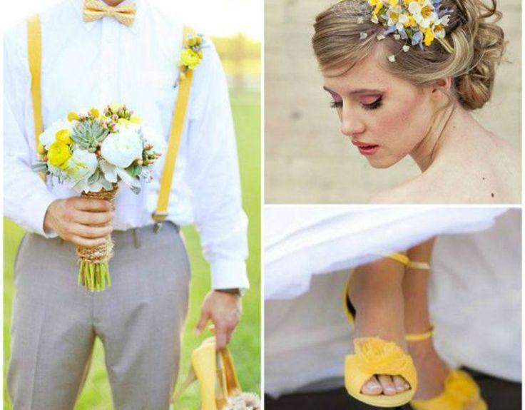 Siete prossimi al matrimonio e volete che il tema sia il giallo? Leggete i nostri suggerimenti ed otterrete un matrimonio dalle tonalità calde e solari!
