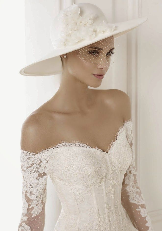 138 Best 2017 Bridal Headpieces Veils Images On Pinterest Wedding Hair Styles Weddings And Brides
