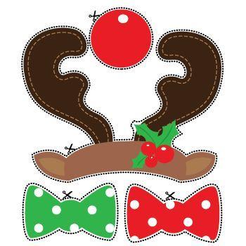 Imprimables Noël - Fête de Noël | imprimables Parti Delights - photo booth