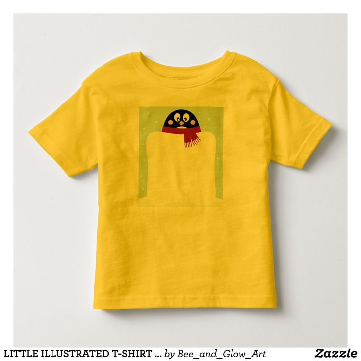 LITTLE ILLUSTRATED T-SHIRT Painted Bird collection