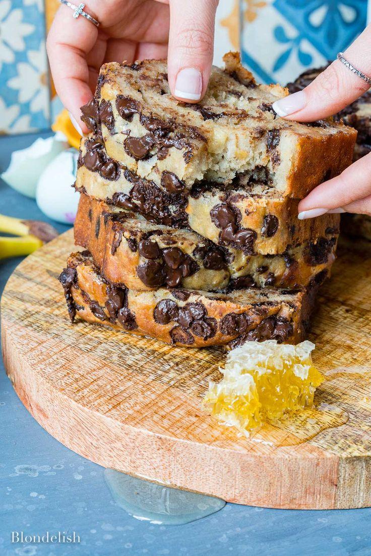 Best Chocolate Chip Banana Bread - How to make banana bread 9