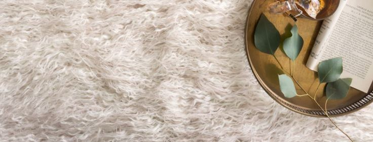 New Rug - available in 2 tone White, Black, Beige, Lilac, Silver