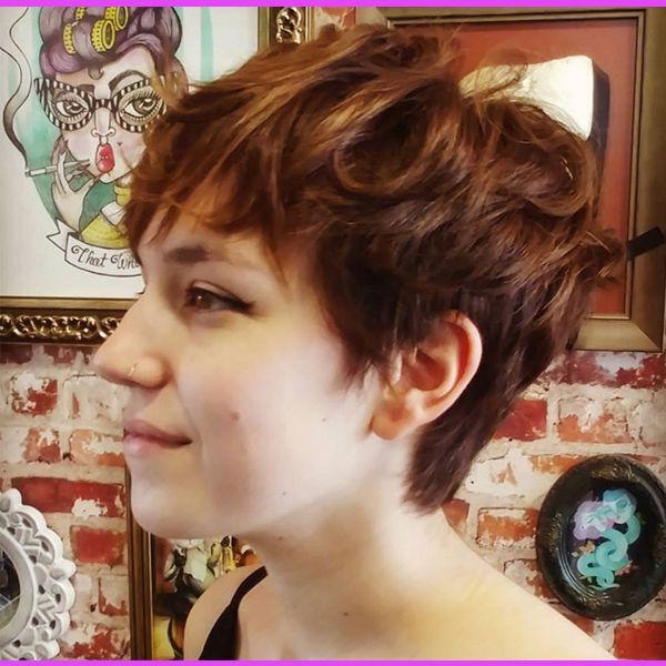 20 Schmeichelhafte Kurze Frisuren für Rundes Gesicht #bob #Frisuren #Kurze