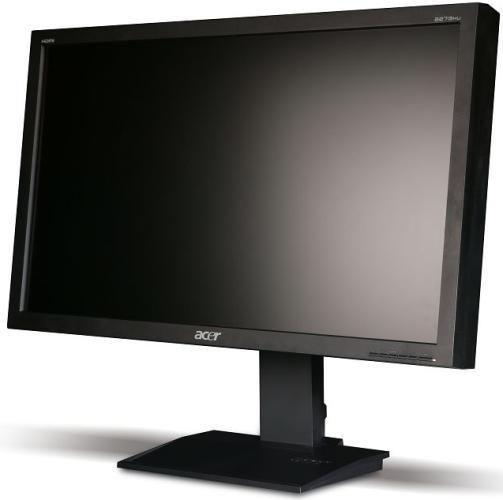 Producent: AcerModel: B273HLAOymidhPrzekątna (cale): 27″Rozdzielczość: 1920 x 1080 pxFormat: 16:9Matryca: TFT/TN, LEDKontrast: 100000000:1Jasność: 300 cd/m2Czas reakcji: 5 msKąt widzenia w poziomie: 170Kąt widzenia w pionie: 160Złącza: D-Sub, HDMITuner TV: NieGłośniki : Tak