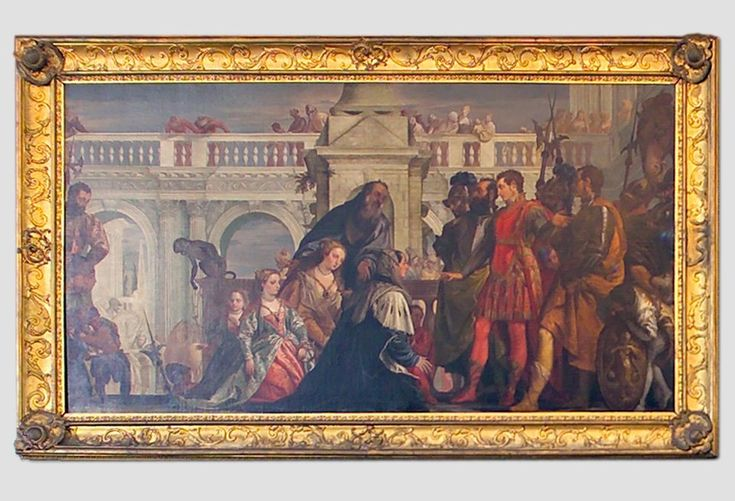 'The Family of Darius at the Feet of Alexander'.