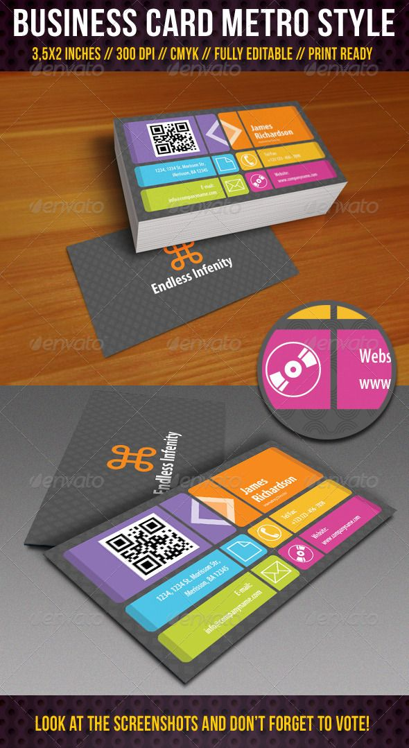 81 best 80+ Stunning QR CODE Business Cards. images on Pinterest ...