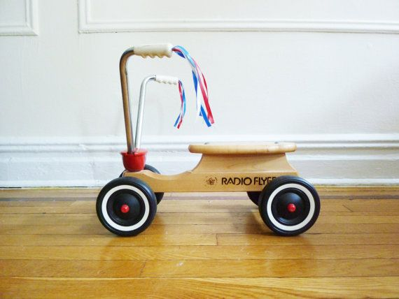 Children's Scooter by Radio Flyer by evanspicks on Etsy, $75.00