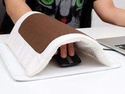 Indispensables pour rester au chaud cet hiver - Tapis de souris USB futon
