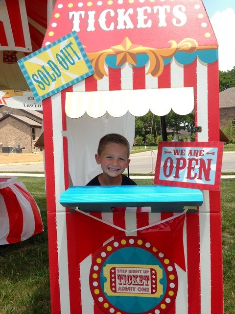 "Photo 1 of 34: Carnival/Circus / Birthday ""Jake's 6th birthday carnival "" 