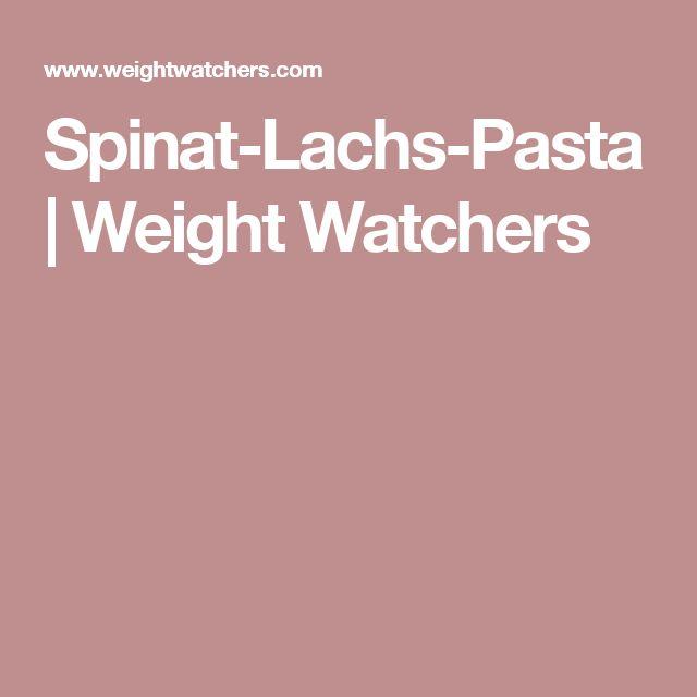 Spinat-Lachs-Pasta | Weight Watchers
