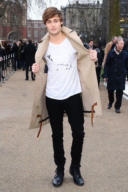 Douglas Booth (aka Romeo/Burberry model.... unbeatable combo)