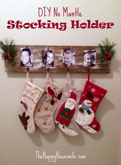 Best 25 stocking holders ideas on pinterest stocking for Best stocking holders