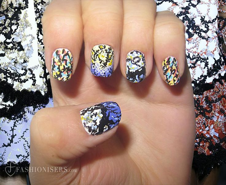 25 trending nail designs spring ideas on pinterest summer nails nail art designs inspired from spring 2015 runway prinsesfo Gallery