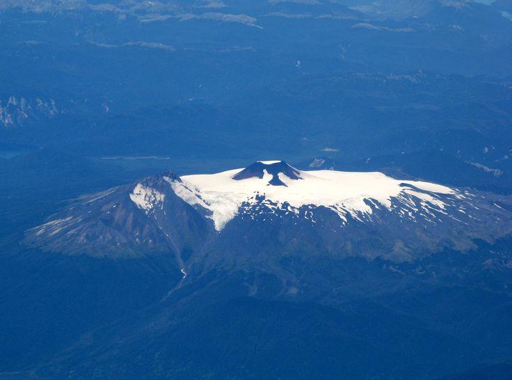 Volcán Mocho-Choshuenco, Chile.