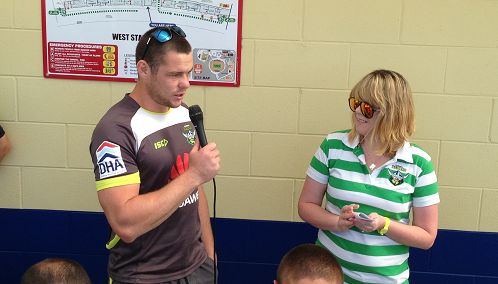 Shaun Fensom was Canberra Raiders Fans' Choice Player of the Year in 2011 and 2012.  In 2012, he was joint winner with Blake Ferguson.  The award is voted on by the readers of The Greenhouse on a 3-2-1 basis each week of the season.