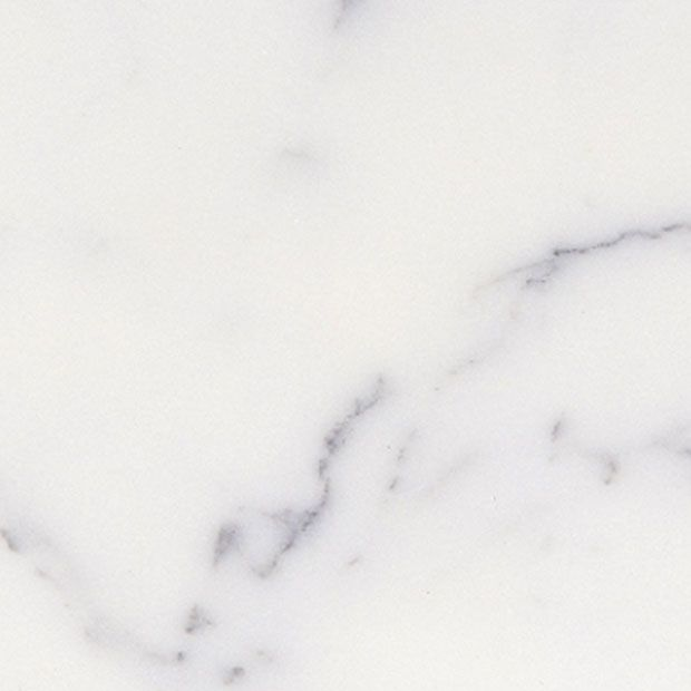Polished Italian Carrara white marble tiles and slabs