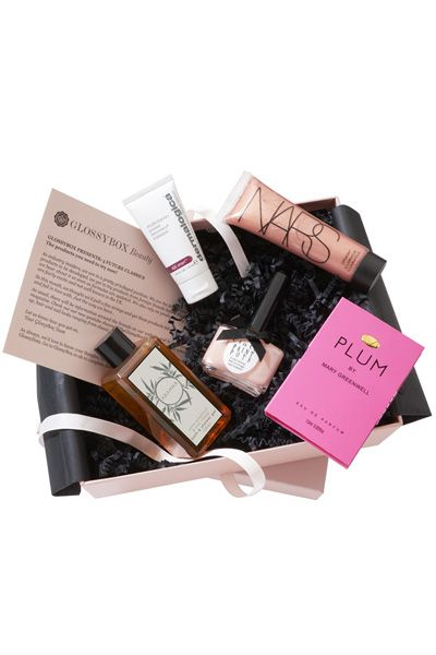 Glossybox: How much: $21 a month Sample brands: Burberry Beauty, Illamasqua, Marvis, Wella How it works: Interested in high-end beauty brands? Then Glossybox is for you. The service delivers five luxury, travel-sized beauty products based on your bespoke beauty profile, all packed in a chic, reusable box.