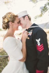 military attire for wedding #military #groom #weddingchicks http://www.weddingchicks.com/2014/01/17/jackson-hole-wedding/