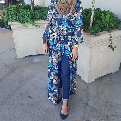 long-floral-open-cardigan-with-belt